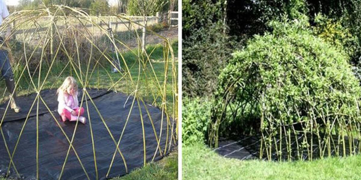 Comment construire une cabane en bambou