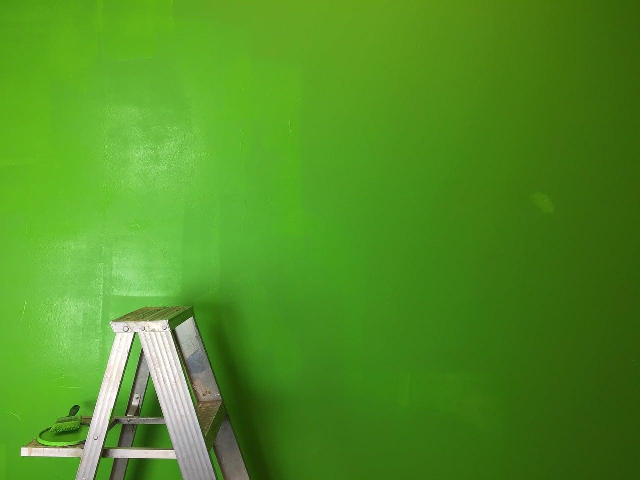 Le vert à l'honneur pour la décoration de votre maison !