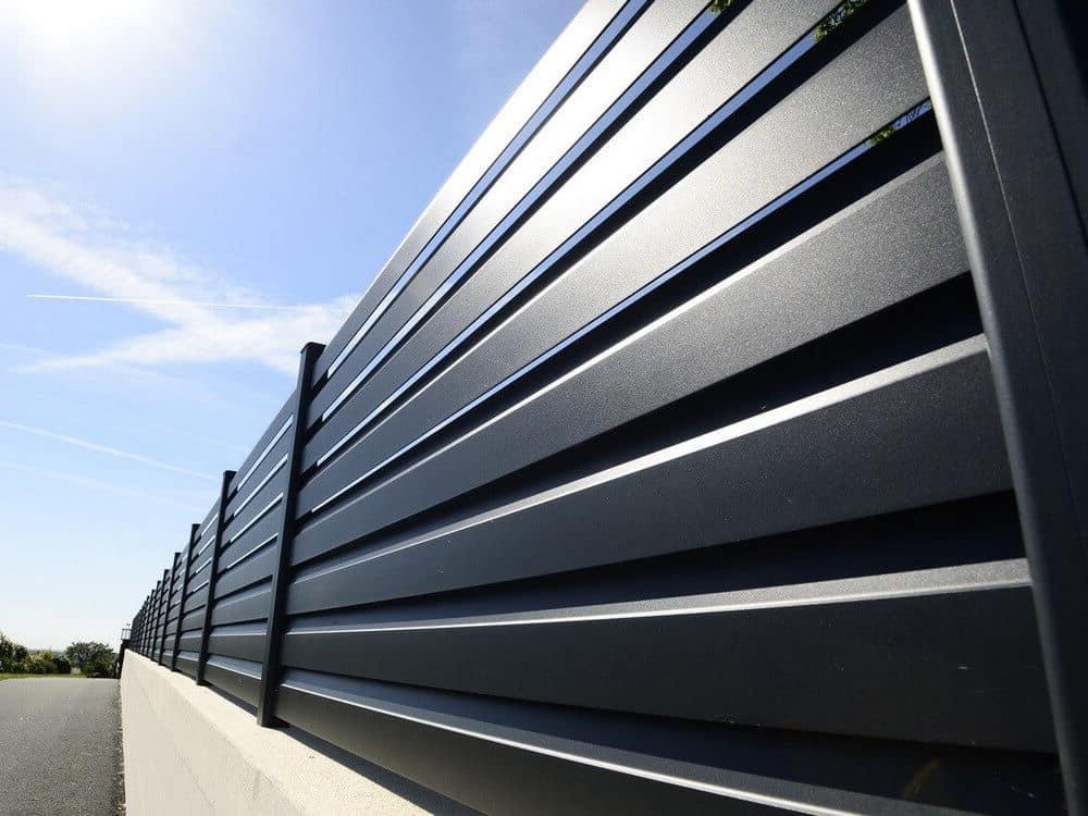 Clôture en aluminium, pour sécuriser et embellir votre propriété