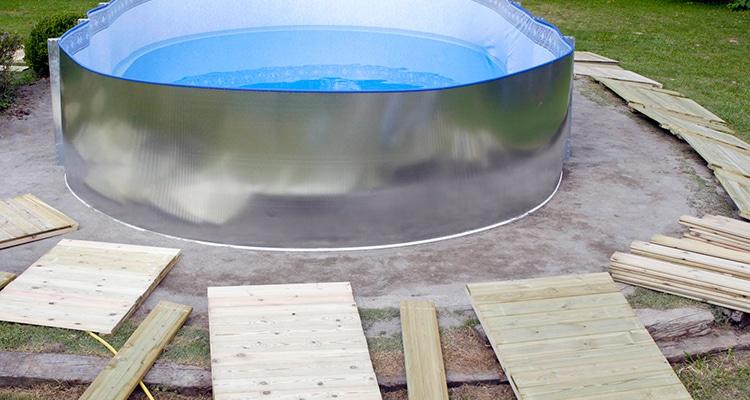 Comment installer une piscine en acier?